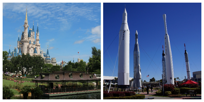KLM Disneyworld Kennedy space centre
