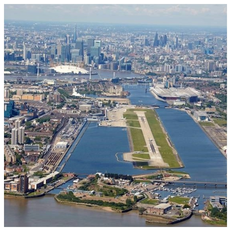 London City Airport Makeover - Dichterbij