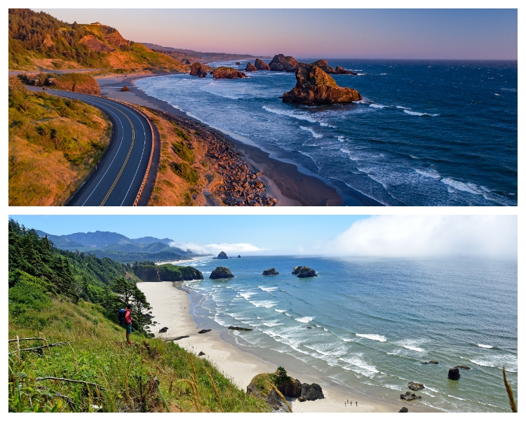 Portland – Oregon – Oregon Coast